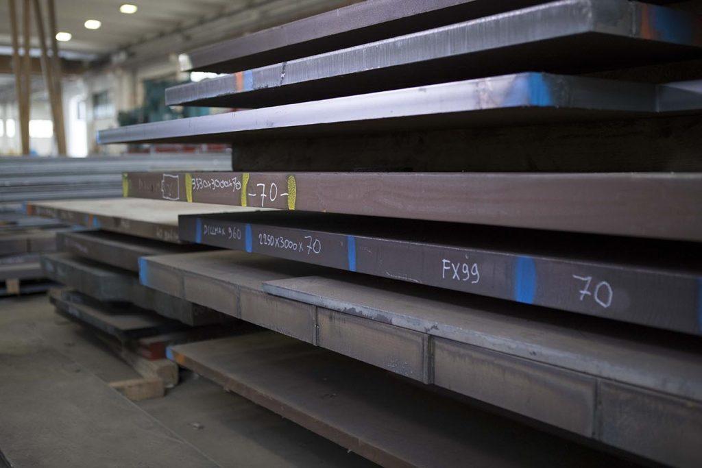 Fida G magazzino stoccaggio acciai specialii