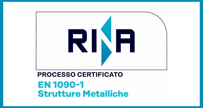 copertina certificazione EN1090-1